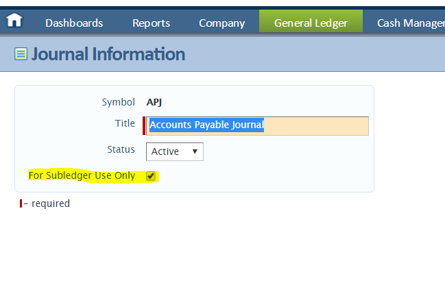 intacct sync error smart rule for subledger use only journal