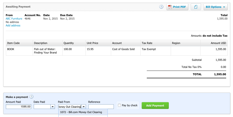 reconciling your bank account with xero support center